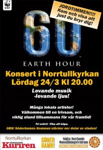 Earth Hour Söderhamn