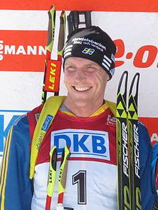 Björn Ferry i Pokljuka 2014. Bild från Wikipedia.