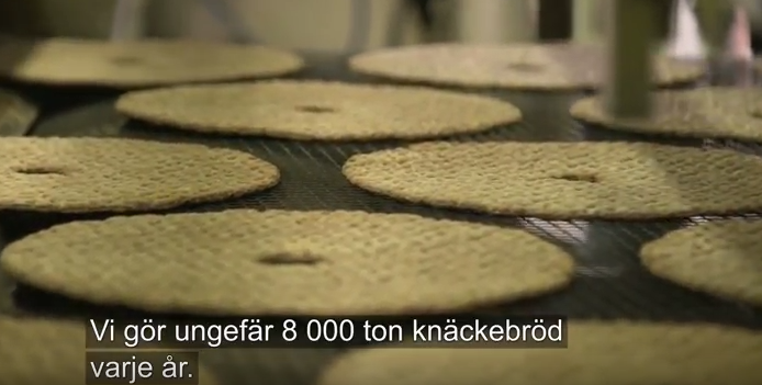 8 tusen ton knäckebröd