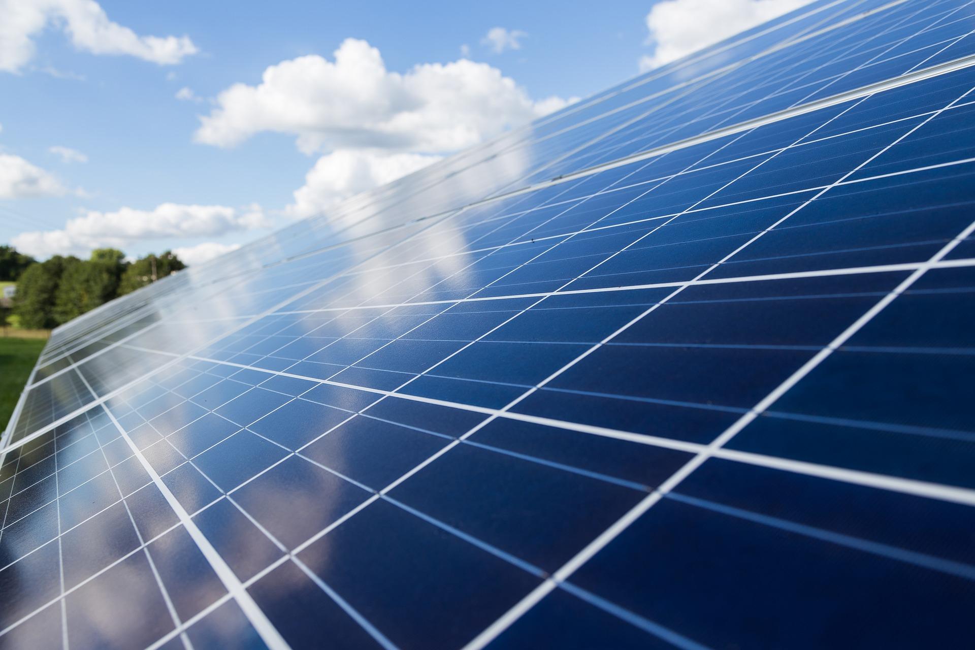 Ändrat investeringsstöd för solceller